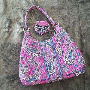Vera Bradley Hobo bag & Change Purse